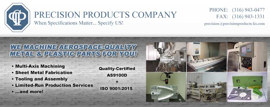 Precision Products Company Banner